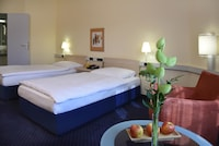 Business Room Twin Beds incl public Transport