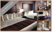 Suite, 2 Queen Beds, Non Smoking, Refrigerator & Microwave