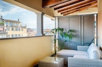 Double or Twin Room, Terrace, City View