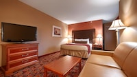 Standard Suite, 1 King Bed, Non Smoking, Refrigerator & Microwave
