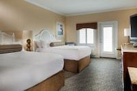 Double Room, 2 Queen Beds, No View