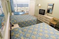 Oceanfront Kitchenette Deluxe, 2 double beds, whirlpool