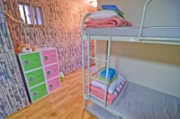 Standard six bed mixed dormitory