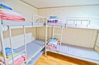 Standard four bed mixed dormitory