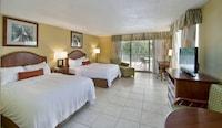 Deluxe Room, 2 Double Beds, Beach View