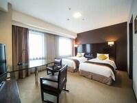 Premium Floor, Deluxe Twin Room (Non-Smoking)