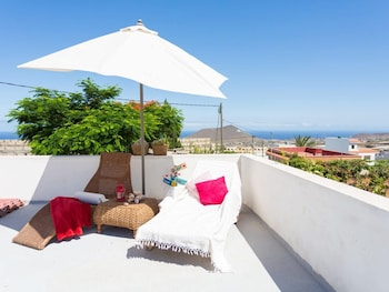 House With 2 Bedrooms in Arafo, With Wonderful sea View and Furnished